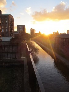 Sunset over Ancoats